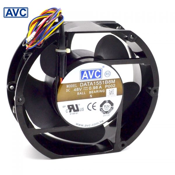 AVC New Full Metal Original DATA1551B8M 17050 17CM 48V 0.98A IPC wind capacity 170*170*50mm