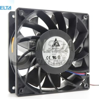 DELTA Blowers FFB1224EHE-F00 1238 12038 12cm 120mm 24V 1.5A wind capacity strong wind server inverter cooling fan