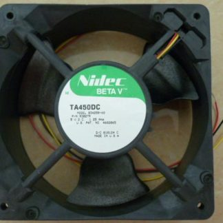 Nidec B34258-68 TA450DC Server Square Fan DC 5V 1.25A 120x120x38mm 3-wire
