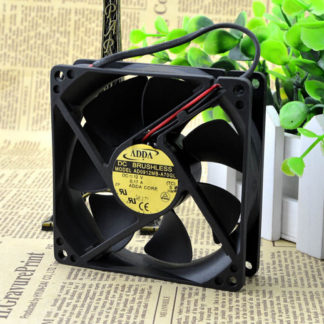 The original ADDA AD0912MB-A70GL 92*92*25 12V 0.17A mute chassis fan