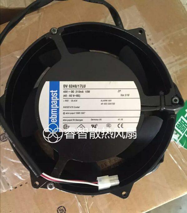 ebmpapst DV6248/17LU 48v DC 210mA 10w cooling fan