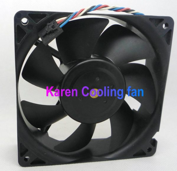 free shipping Nidec 12cm 12038 12V 1.4a TA450DC B35502-35 cpu cooler heatsink axial Cooling Fan