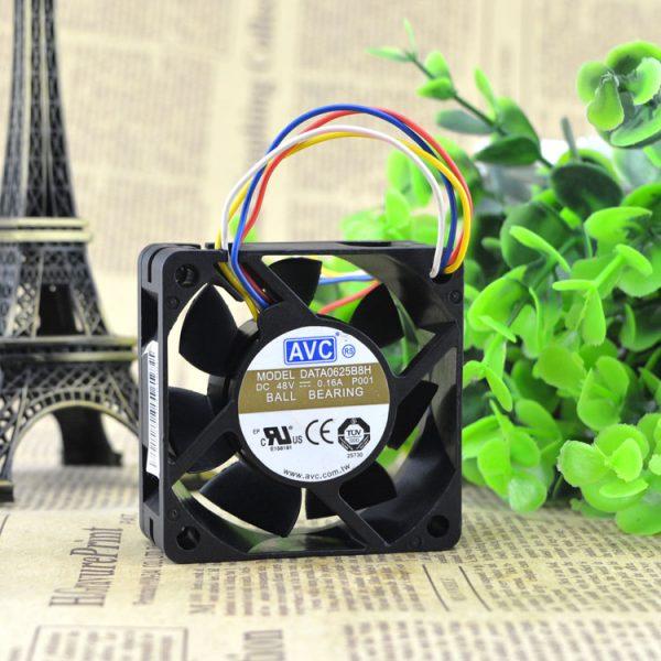 New original DATA0625B8H 48V 0.16A four-wire 6cm fan