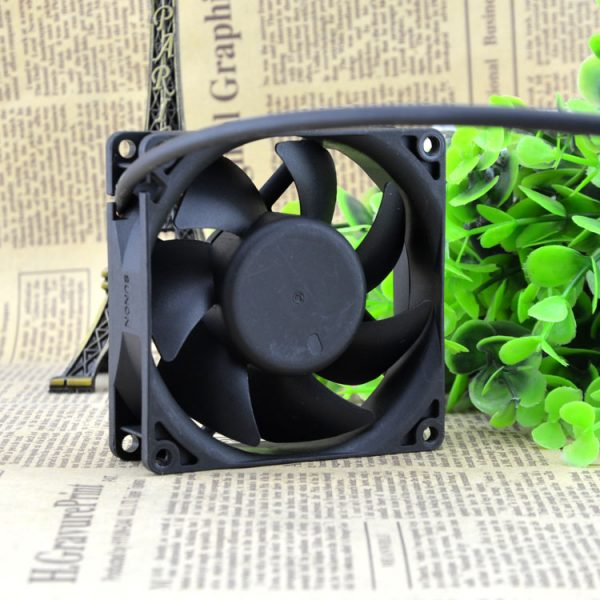 Free Delivery. 8 cm 8025 12 v 1.9 W KD1208PTS1 chassis 2 line power supply cooling fan