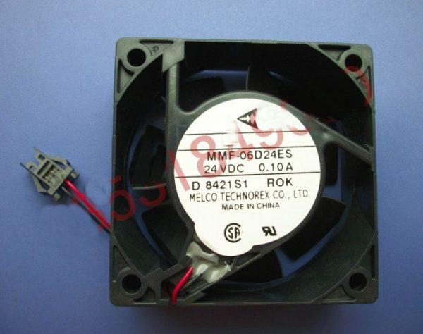 New Original Nidec Inverter fan for Yaskawa MMF-06D24ES ROK 24V 0.10A 60*60*25MM