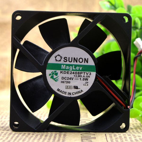SSEA New inverter cooling fan for SUNON KDE2408PTV3 8025 8CM 24V 1.0W 80*80*25MM