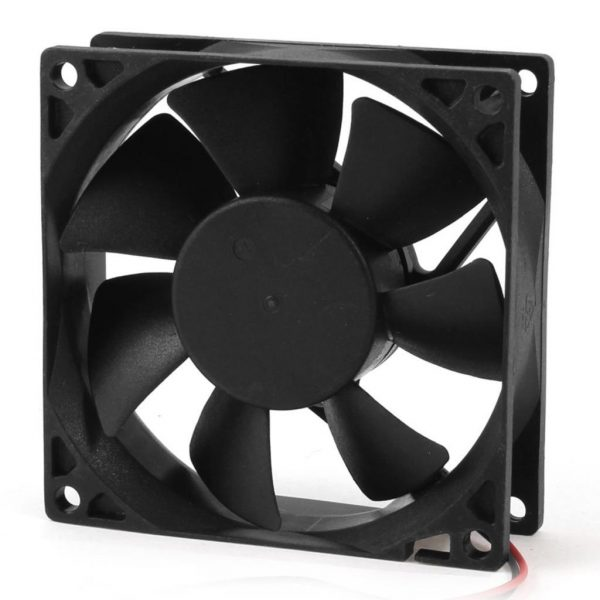 YOC Hot 80mm DC 12V 2pin PC Computer Desktop Case CPU Cooler Cooling Fan