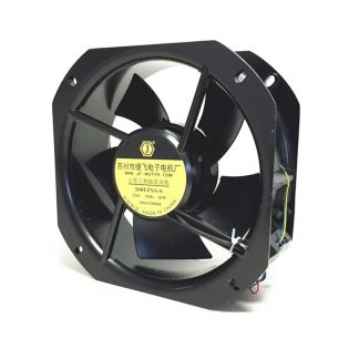 200FZY6-S Small Industrial Frequency Axial Fan Cooling Fan 220V 80W 0.35A Cabinet Cooling High Temperature Resistance
