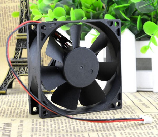 ADDA 8025 12V 0.15A 8 cm double ball the chassis power supply fan AD0812MB-A70GL