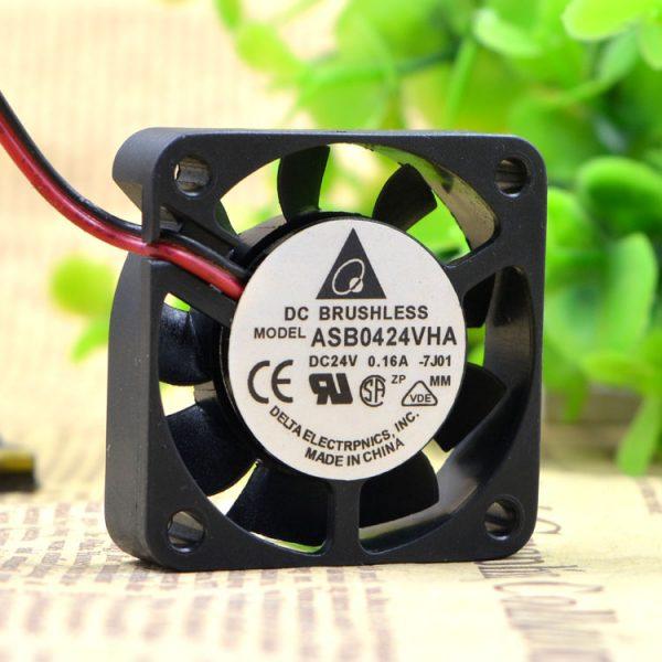 New Original 4cm ASB0424VHA 24V 0.16A 4020 printer drive fan