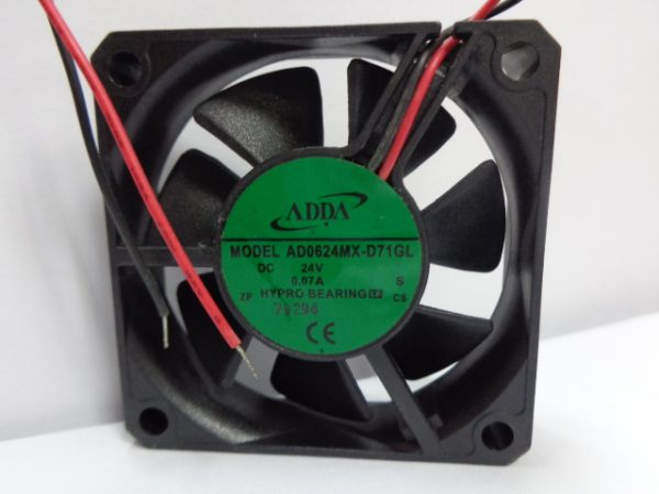 New Original ADDA AD0624MX-D71GL 24V 0.07A 6cm 60*60*15MM Inverter cooling fan