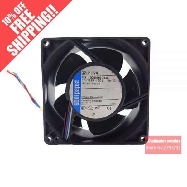 ebm papst 3212 J/2N 9238mm DC 12V 7.6W server cooling fan cooling fan