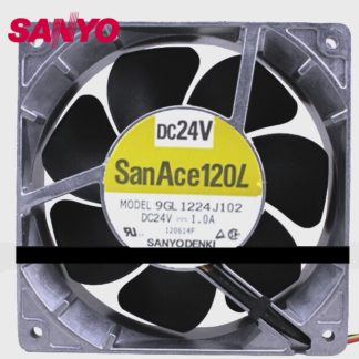12038 1.0A 24V 12CM aluminum frame large air volume inverter fan 9GL1224J102 cooling fan