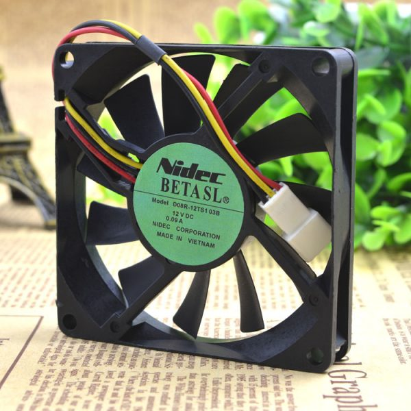 Free Delivery. 4 cm 4010 DFB401012L 12 v 0.6 W dual ball ultra-quiet cooling fans