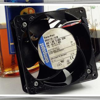 Original German ebmpapst DV4118/31N 12038 48V 0.46a, 22W cooling fan