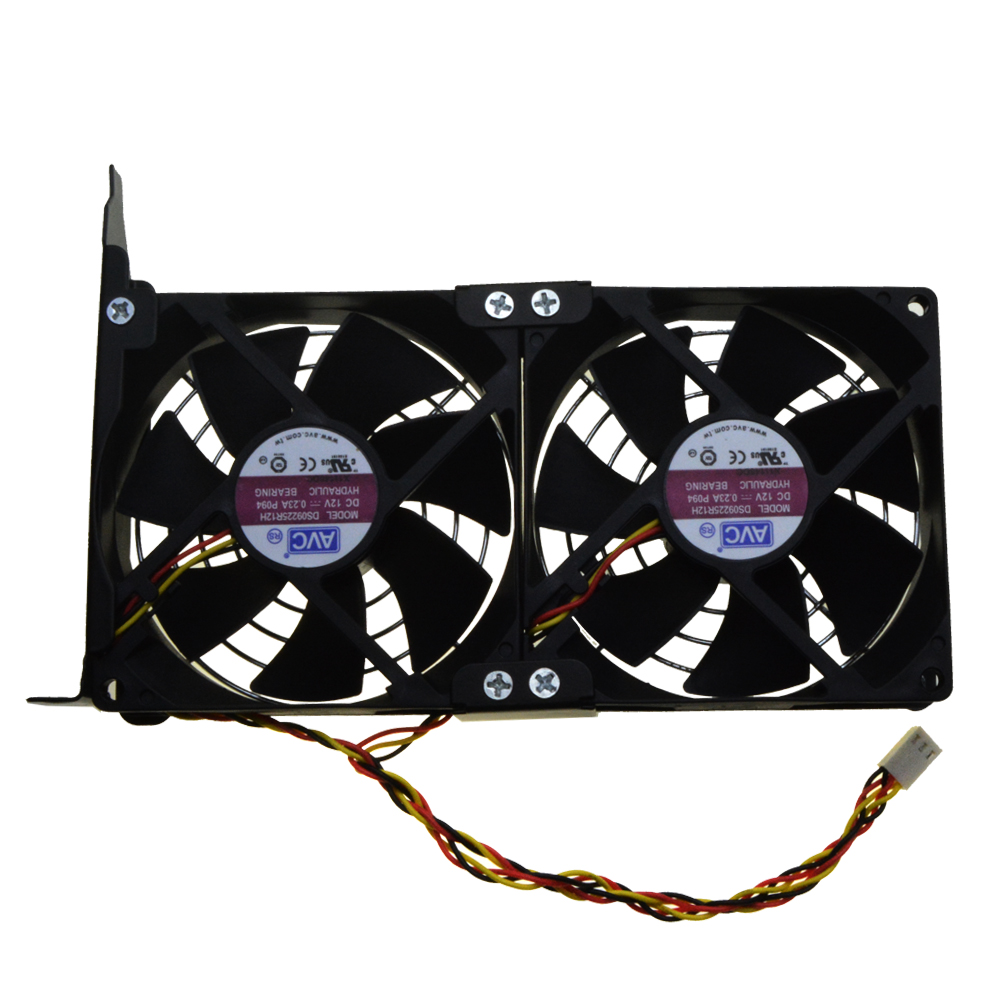 Universal GPU Double Fan Partner Ultra Quiet PCI Video Card Dual Cooler  Computer Chassis PCI-e Graphics Card Cooling 9CM