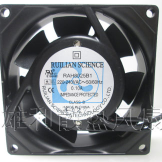 Free Delivery.RAH8025B1 220V 240V 0.10A 8CM 8025 cabinet ball cooling fan