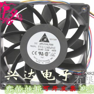 New original FFB1248VHE 12CM 12038 48V 0.42A large air volume cooling fan