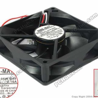 NMB-MAT 3610KL-05W-B49, G00 DC 24V 0.16A 90x90x25mm Server Square fan