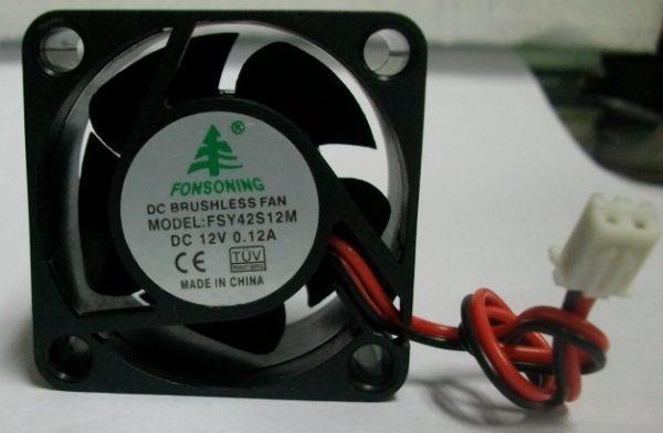 FONSONING Inverter fan 4020 12V 0.12A FSY42S12M Cooling fan
