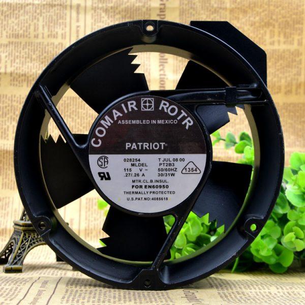 New original PT2B3 115V 0.27A 30W 17CM 17251 high temperature cooling fan