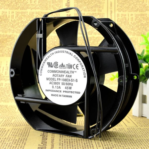 Free Delivery. New original axial flow fan FP - 108 ex - S1 - S / 380 v pure copper wire, 17250, 17251 B