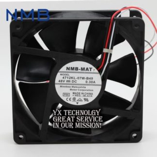 NMB New and Original 4712KL-07W-B49 48V 0.3A 12cm 12032 chassis fan drive for NMB 120*120*32mm