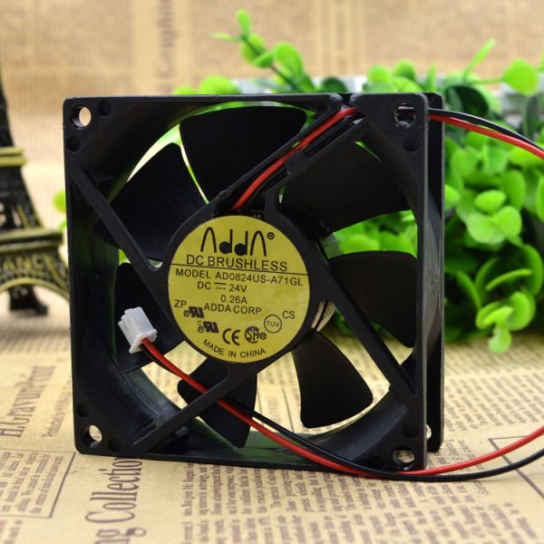 New Original 4CM AD0412MB-C50 12V 0.08 Silent Monitor Recorder Fan Chassis Power Supply