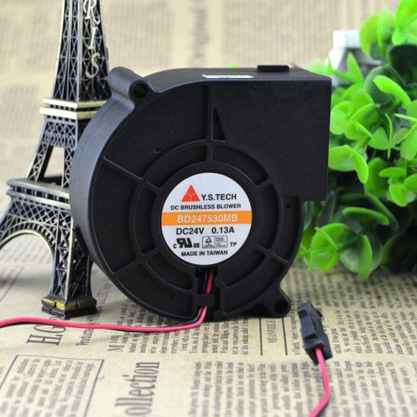 Free Delivery. 7.5 CM turbine inverter fan BD247530MB DC24V 0.13 A
