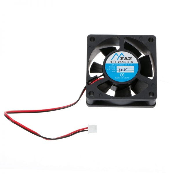 ANENG 60mm*60mm*20mm DC 12V 2 Pin Cooler Brushless Axial PC CPU Case Cooling Fan 6020