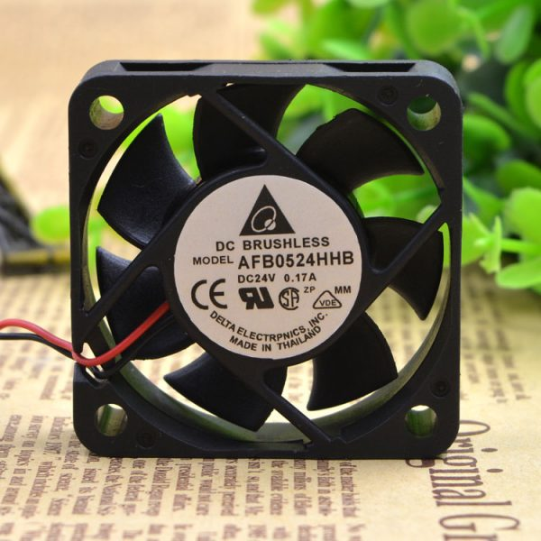 Free Delivery. AFB0524HHB 5015 24 v 0.17 A dual ball inverter fan 5 cm large air volume
