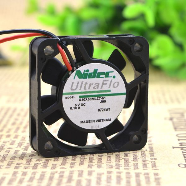 Free Delivery.U40X05ML27-51 4 cm4 end-august 4010 5 v USB ultra-quiet fan