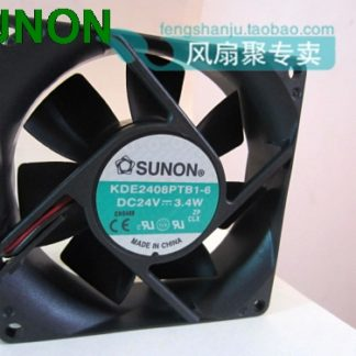 SUNON KDE2408PTB1-6 DC 24V 3.4W server cooling fan 8cm 8025 80x80x25mm 80mm