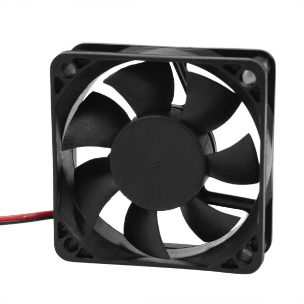 PROMOTION! Hot Sale DC 12V 2Pins Cooling Fan 60mm x 15mm for PC Computer Case CPU Cooler