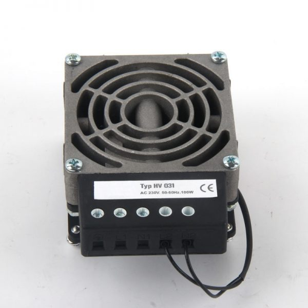 Industrial Cabinet Used 120VAC 100W Space-saving Industrial Heater With Fan