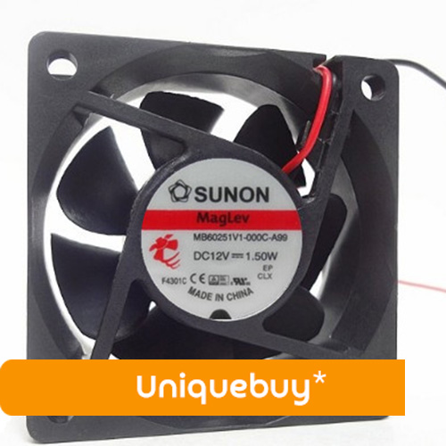 MB60251V1-000C-A99 DC12V 0.12A 1.5W For Sunon Small Chassis Cabinet Fan Fan