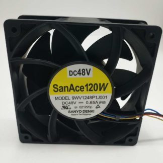 Original SANYO 9WV1248P1J001 12038 48V 0.65A 12CM IP55 waterproof cooling fan