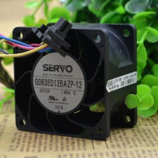 Original 6cm G0638D12BAZP-12 60*60*38mm 6038 12V 1.66A 4 wire violence fan