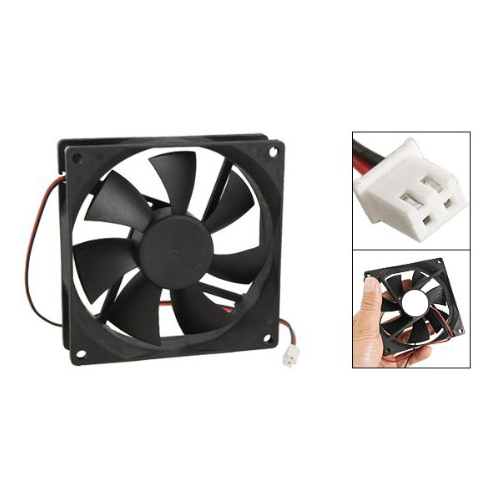 PROMOTION! 90mm x 25mm DC 12V 2Pin Cooling Fan for Computer Case CPU Cooler