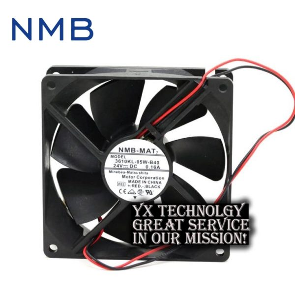 New 92*92*25mm 3610KL-05W-B40 9225 9CM 24V 0.16A double ball inverter fan for nmb-mat7