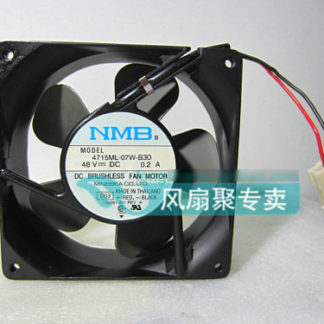 Original for NMB 4715ML-07W-B30 12cm 12038 48V 0.2A aluminum frame cooling fan
