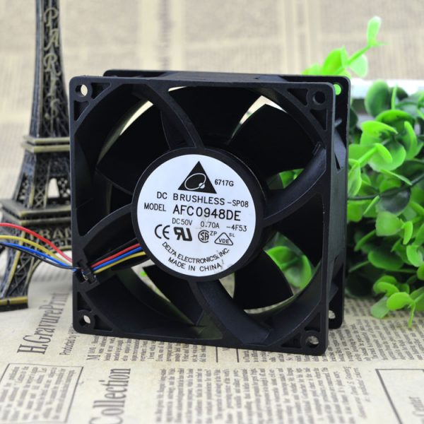 Free Delivery. 9038 50 v 0.70 A dual ball 4 line 9 cm cabinets inverter fan AFC0948DE