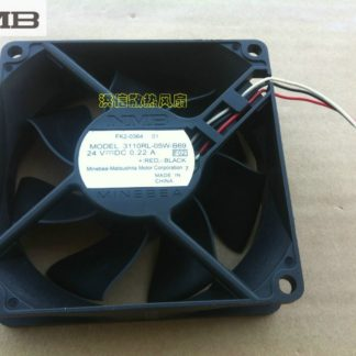 Original NMB 3110RL-05W-B69 F02 8025 80mm 8cm DC 24V 0.22A 8CM server inverter fan