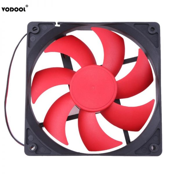 120 x 120 x 25mm DC12V 1800RPM 2Pin Cooling Fan Portable CPU Computer Case Fan Radiator Cooler for PC Computer New Promotion