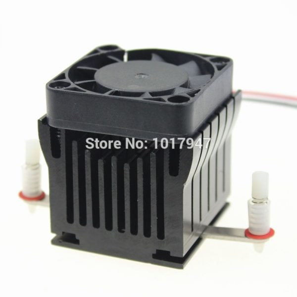 1 Pieces Aluminium Heatsink Cooler 40x10mm Fan For PC Computer Northbridge Chipset Cooling