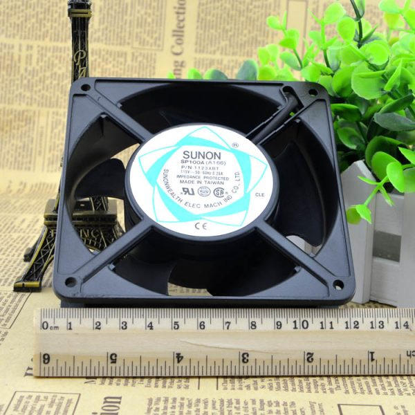 Free Delivery. 12038 SUNON 115 v / 110 v SP100A aluminum frame, double ball bearing fan