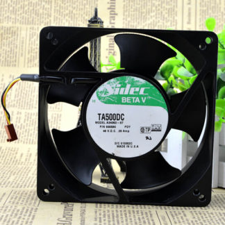 original Nidec 127x127x38mm A34362-87 48V high temperature cooling fan P/N 930596