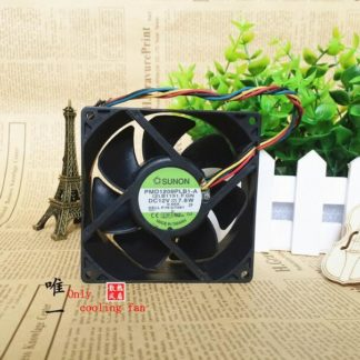 Original SUNON PMD1209PLB1-A DC 12V 0.65A 7.8W 9032 90*90*32MM 9CM 4-Wire Cooling Fan