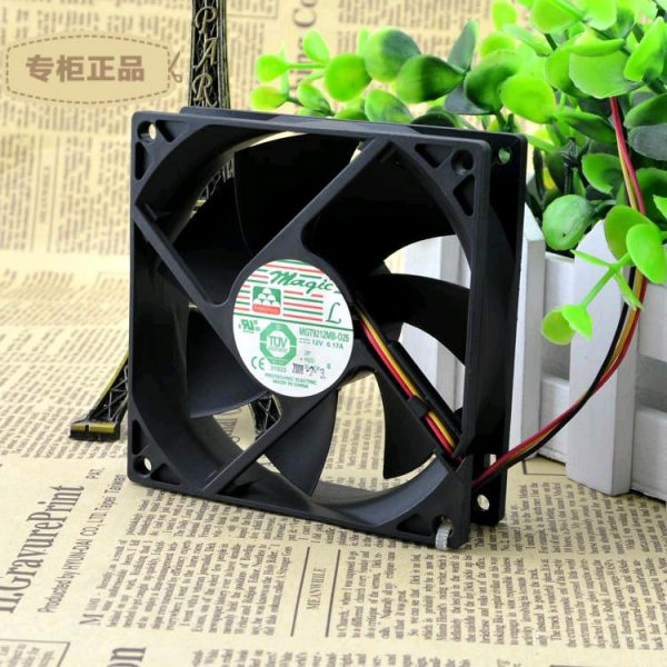 Free Delivery. MGT9212MB O25 9025-12 v 0.17 A 9 cm/cm chassis power supply cooling fan