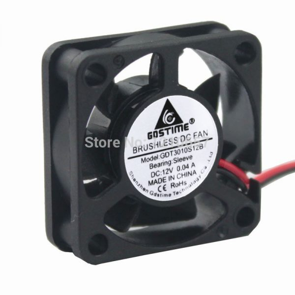 3PCS lot Gdstime 3010s 30MM 30 x 30 x 10MM 12V 2Pin DC Cooler Small Cooling Fan